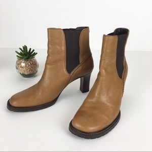 Cole Haan Booties Boots Leather Sz 8